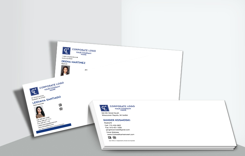 Coldwell Banker Real Estate #10 Agent Envelopes - Coldwell Banker  - Custom Stationery Templates for Realtors | BestPrintBuy.com