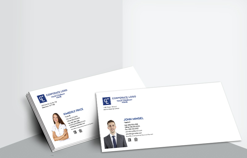 Coldwell Banker Real Estate #10 Silhouette Envelopes - Coldwell Banker - Custom Stationery Templates for Realtors | BestPrintBuy.com