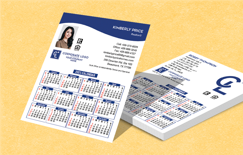 Coldwell Banker Real Estate Mini Business Card Calendar Magnets - Coldwell Banker  2019 calendars | BestPrintBuy.com