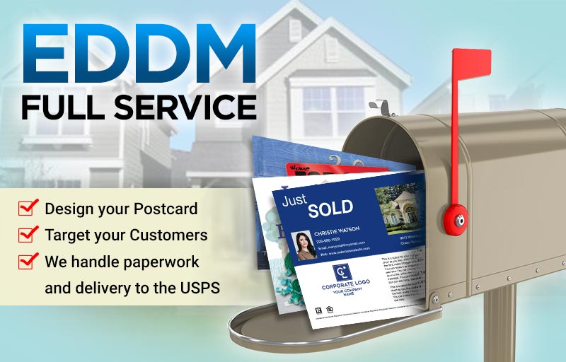 Coldwell Banker Real Estate Full Service EDDM Postcards - Coldwell Banker  personalized Every Door Direct Mail Postcards printed and delivered to USPS | BestPrintBuy.com