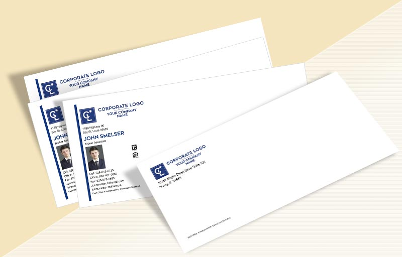 Coldwell Banker Real Estate #10 Envelopes - Coldwell Banker Custom #10 Envelopes Stationery for Realtors | BestPrintBuy.com