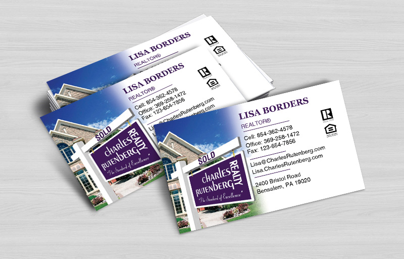 Charles Rutenberg Realty Real Estate Business Card Magnets Without Photo - Charles Rutenberg Realty  personalized marketing materials | BestPrintBuy.com