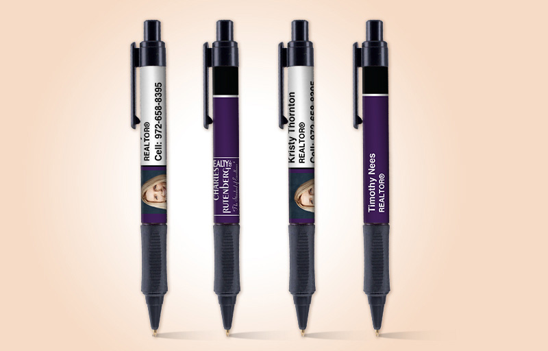 Charles Rutenberg Realty Real Estate Grip Write Pens - Charles Rutenberg Realty  promotional products | BestPrintBuy.com