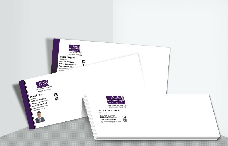 Charles Rutenberg Realty Real Estate #10 Agent Envelopes - Charles Rutenberg Realty  - Custom Stationery Templates for Realtors | BestPrintBuy.com