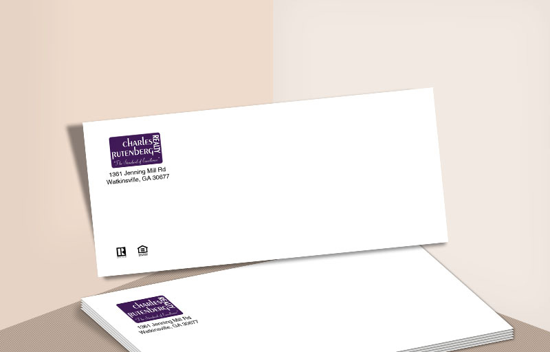 Charles Rutenberg Realty Real Estate #10 Office Envelopes - Charles Rutenberg Realty - Custom Stationery Templates for Realtors | BestPrintBuy.com