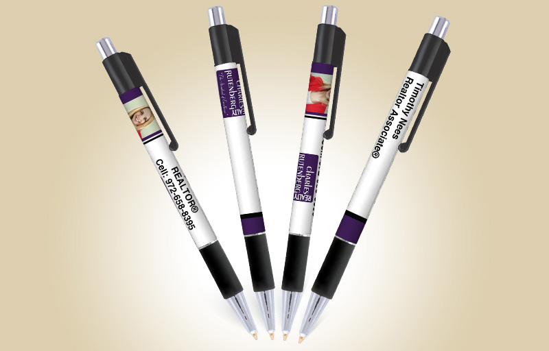 Charles Rutenberg Realty Real Estate Colorama Grip Pens - Charles Rutenberg Realty promotional products | BestPrintBuy.com