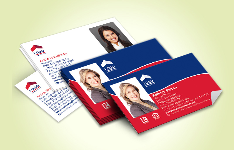 ERA Real Estate  Business Card Labels With Photo - ERA Real Estate marketing materials | BestPrintBuy.com
