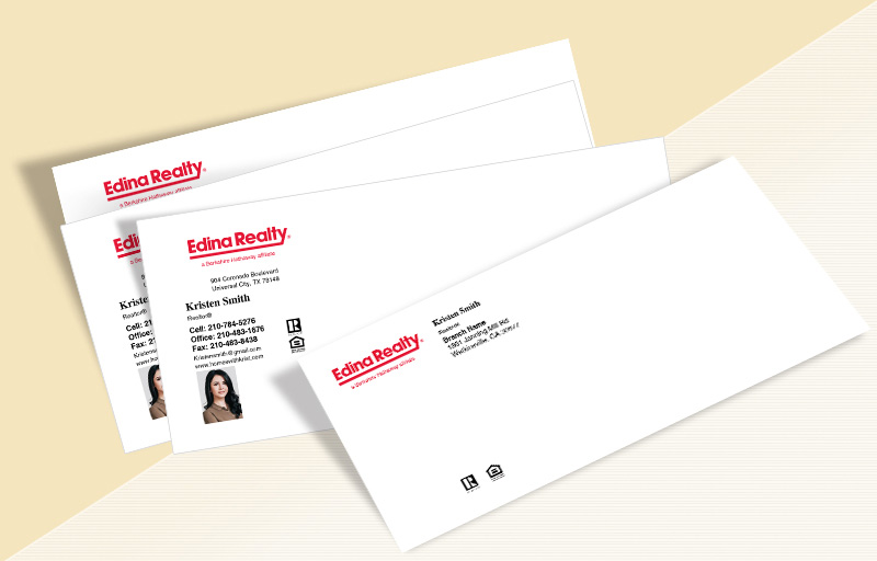 Edina Realty  #10 Envelopes - Edina Realty Custom #10 Envelopes Stationery for Realtors | BestPrintBuy.com