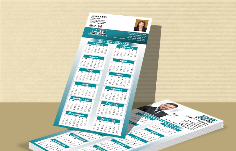 Exit Realty Real Estate Business Card Calendar Magnets - Exit Realty approved vendor 2019 calendars | BestPrintBuy.com