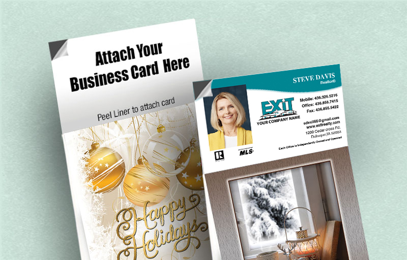 Exit Realty Real Estate 13 Month Tear-Off Calendars - Exit Realty approved vendor magnetic tear away calendar | BestPrintBuy.com