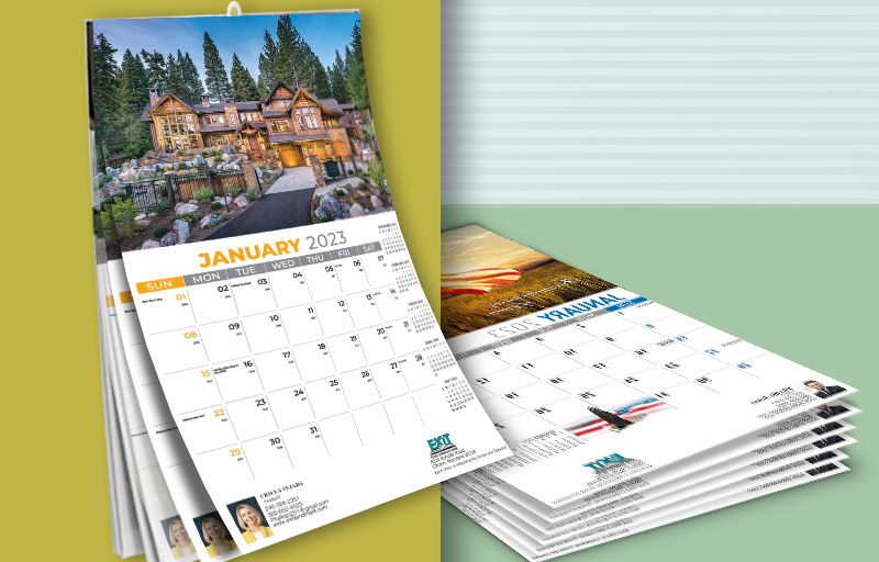 Exit Realty Real Estate Wall Calendars - Exit Realty approved vendor 2019 calendars | BestPrintBuy.com