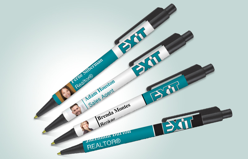 Exit Realty Real Estate Colorama Pens - Exit Realty approved vendor promotional products | BestPrintBuy.com