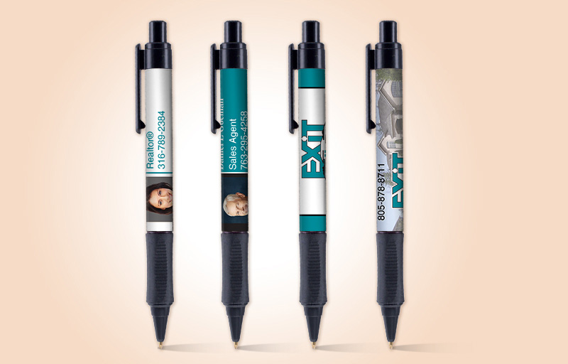 Exit Realty Real Estate Grip Write Pens - Exit Realty approved vendor promotional products | BestPrintBuy.com