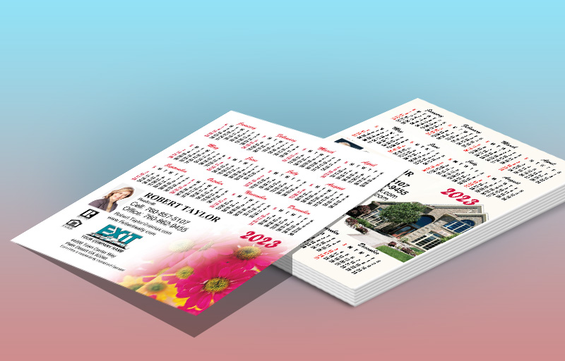 Exit Realty Real Estate Full Calendar Magnets 3.5