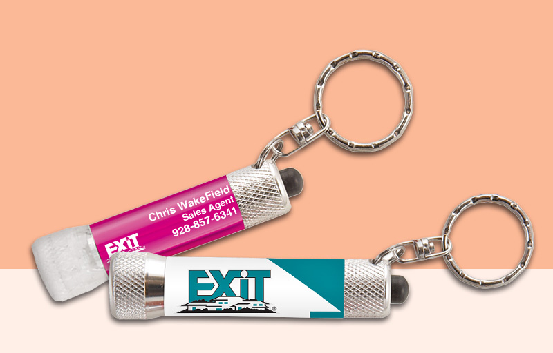 Exit Realty Real Estate Flashlights - Exit Realty approved vendor personalized promotional products | BestPrintBuy.com
