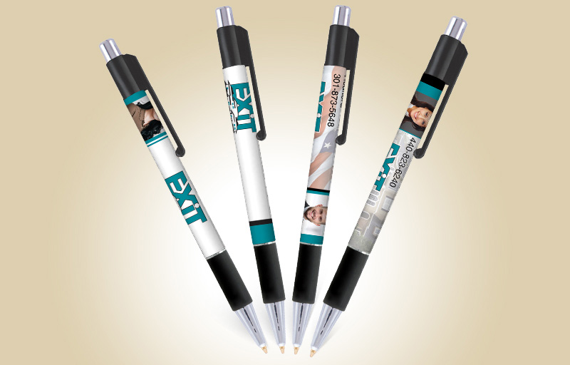 Exit Realty Real Estate Colorama Grip Pens - Exit Realty approved vendor promotional products | BestPrintBuy.com