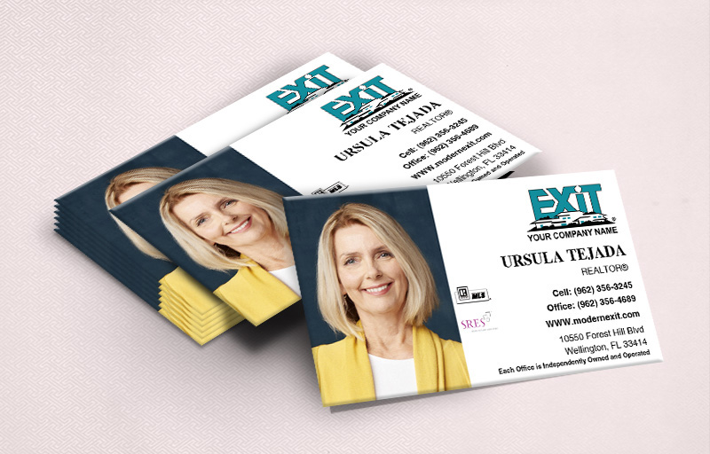 Exit Realty Ultra Thick Business Cards With Photo - Exit Realty Approved Vendor - Luxury, Thick Stock Business Cards with a Matte Finish for Realtors | BestPrintBuy.com