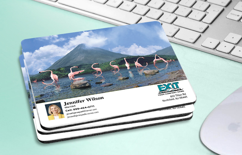 Exit Realty WOW! Mouse Pads - Exit Realty approved vendor custom personalized promotional products | BestPrintBuy.com