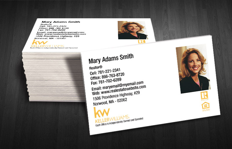 Keller williams business card products foil business cards colourmoves Gallery