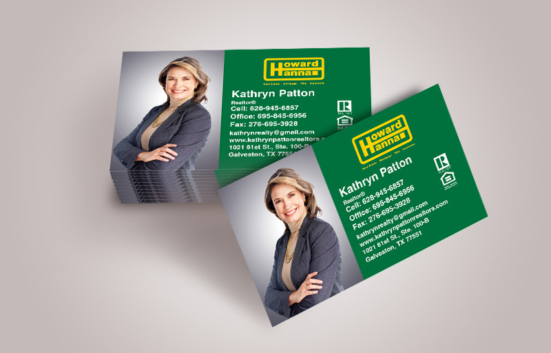 Howard Hanna Real Estate Business Cards With Photo - Howard Hanna  marketing materials | BestPrintBuy.com