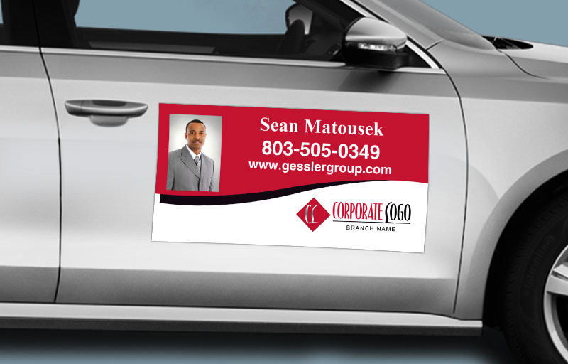 HomeSmart Real Estate 12 x 24 with Photo Car Magnets - HomeSmart Real Estate custom car magnets for realtors | BestPrintBuy.com