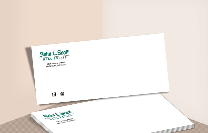 John L. Scott Real Estate #10 Office Envelopes - John L. Scott Real Estate - Custom Stationery Templates for Realtors | BestPrintBuy.com