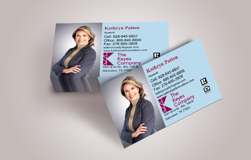 The Keyes Company Real Estate Business Cards With Photo - The Keyes Company  marketing materials | BestPrintBuy.com