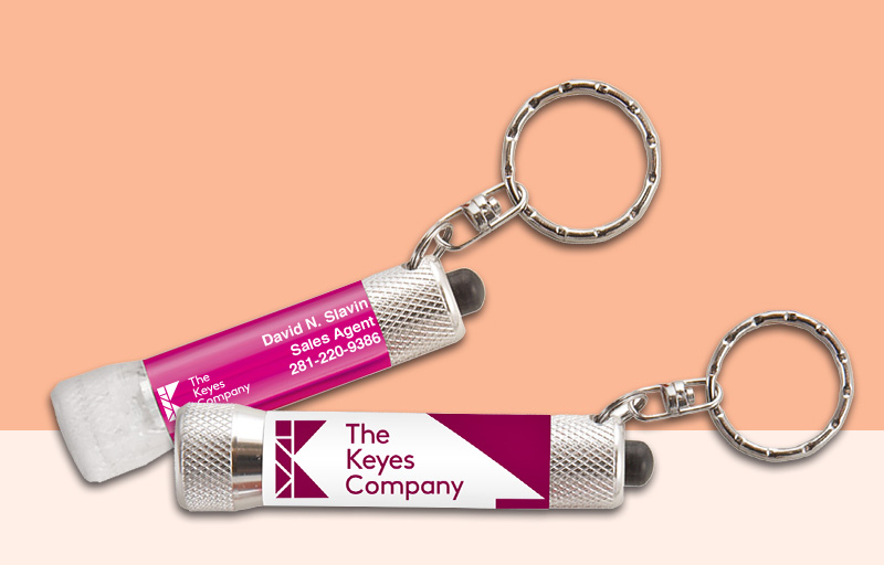 The Keyes Company Real Estate Flashlights - The Keyes Company personalized promotional products | BestPrintBuy.com