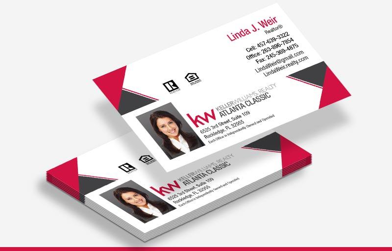 Keller Williams Business Cards, Approved Vendor, Online Designs, Hundreds OF Templates, Business