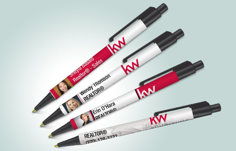 Keller Williams Real Estate Colorama Pens - KW approved vendor promotional products | BestPrintBuy.com