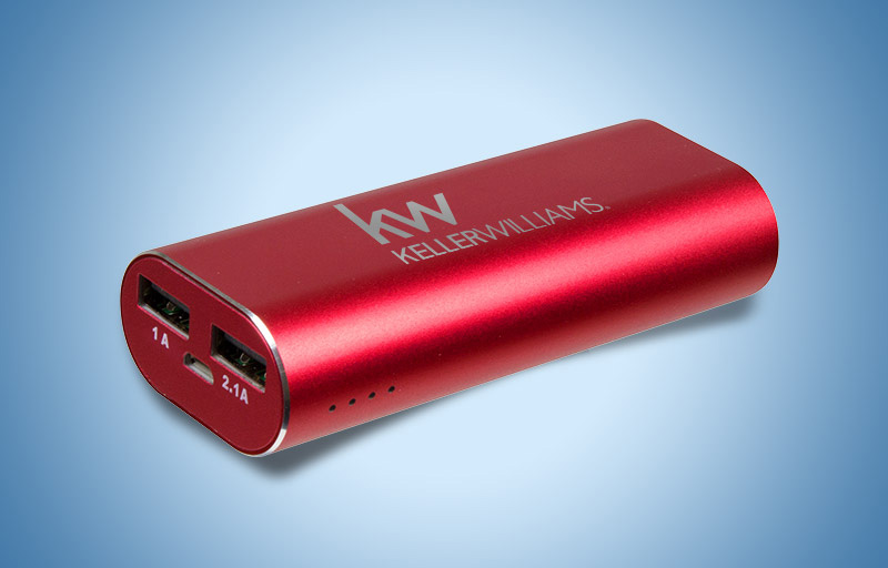 Keller Williams Real Estate USB Chargers - KW approved vendor promotional products | BestPrintBuy.com