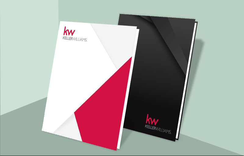 Keller Williams Real Estate Stock Listing Presentation Hard Covers - KW approved vendor stock covers | BestPrintBuy.com