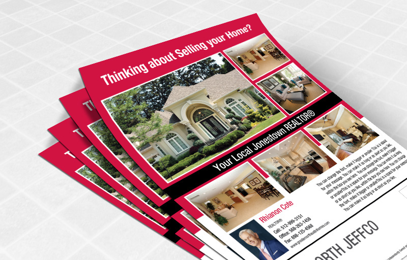 Keller Williams Real Estate Flyers and Brochures - KW approved vendor one-sided flyer templates for open houses and marketing | BestPrintBuy.com