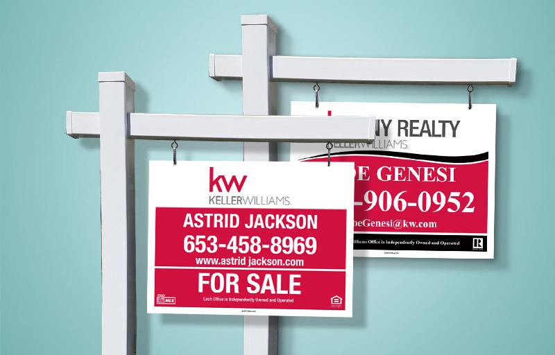 Keller Williams Real Estate Signs Get Noticed