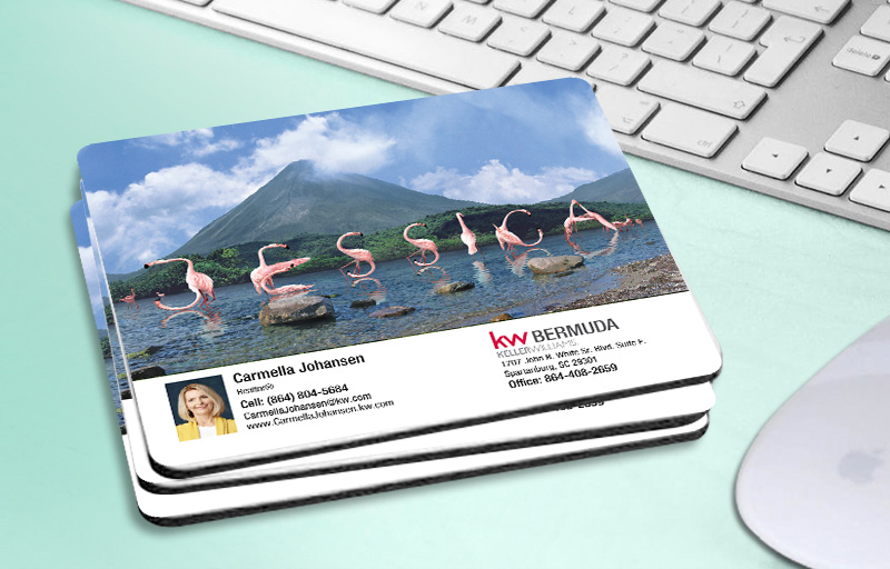 Keller Williams Real Estate WOW! Mouse Pads - KW approved vendor custom personalized promotional products | BestPrintBuy.com