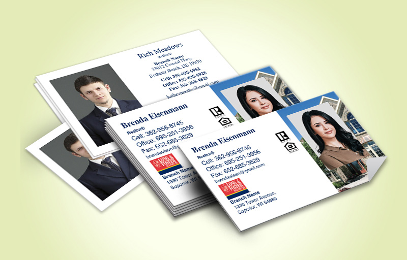 Long and Foster Real Estate Business Card Labels With Photo - Long and Foster marketing materials | BestPrintBuy.com