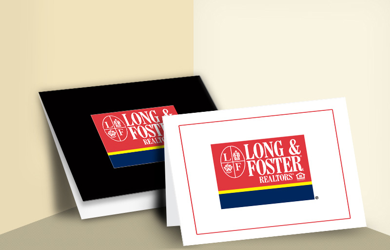 Long and Foster Real Estate Folded Note Cards - Long and Foster  general note card stationery | BestPrintBuy.com