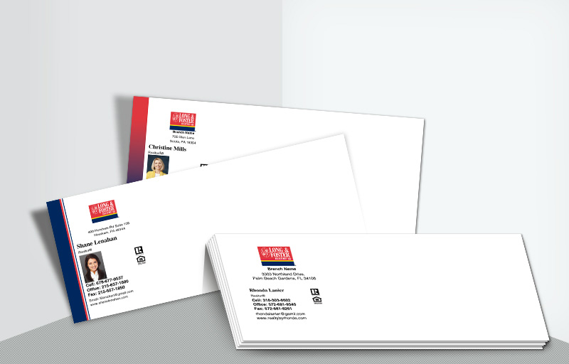 Long and Foster Real Estate #10 Agent Envelopes - Long and Foster  - Custom Stationery Templates for Realtors | BestPrintBuy.com