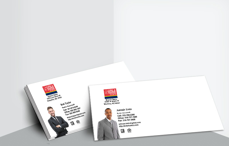 Long and Foster Real Estate #10 Silhouette Envelopes - Long and Foster - Custom Stationery Templates for Realtors | BestPrintBuy.com