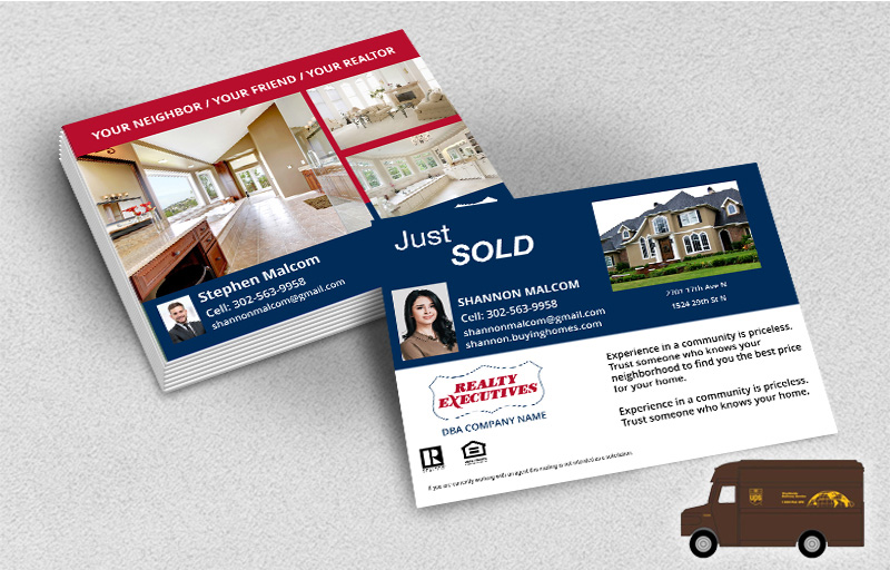 Realty Executives Real Estate Postcards (Delivered to you) - Realty Executives postcard templates | BestPrintBuy.com