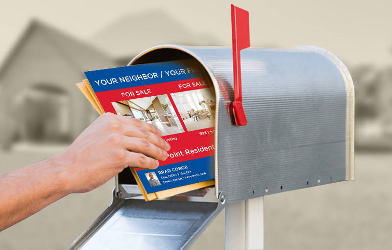 RE/MAX Real Estate Postcard Mailing - RE/MAX direct mail postcard templates and mailing services | BestPrintBuy.com