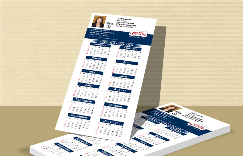 Realty Executives Real Estate Business Card Calendar Magnets - Realty Executives  2019 calendars | BestPrintBuy.com