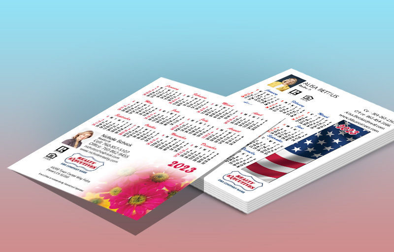 Realty Executives Real Estate Full Calendar Magnets 3.5