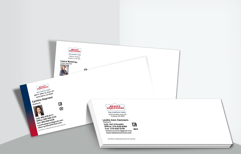Realty Executives Real Estate #10 Agent Envelopes - Realty Executives - Custom Stationery Templates for Realtors | BestPrintBuy.com