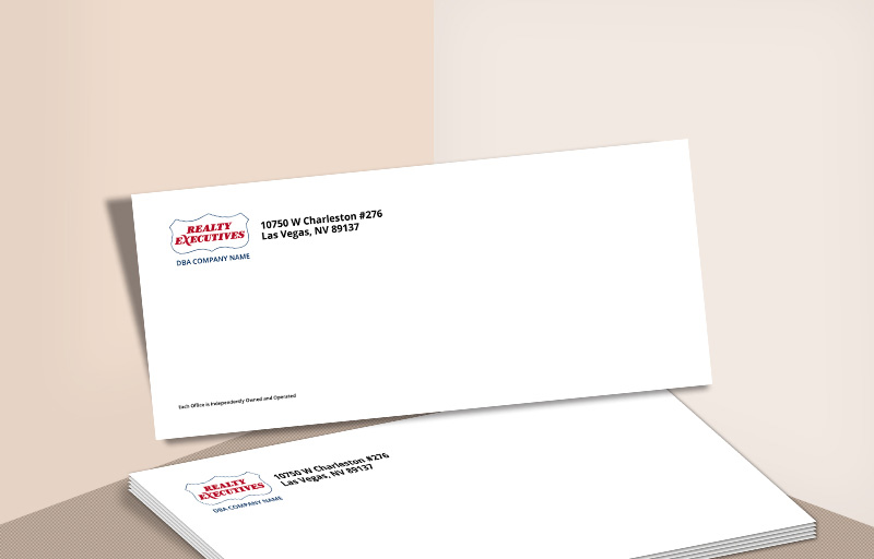 Realty Executives Real Estate #10 Office Envelopes - Realty Executives - Custom Stationery Templates for Realtors | BestPrintBuy.com