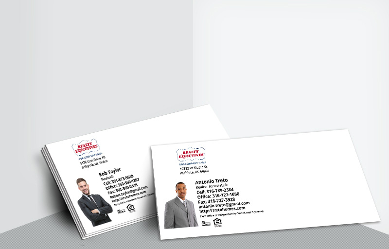 Realty Executives Real Estate #10 Silhouette Envelopes - Realty Executives - Custom Stationery Templates for Realtors | BestPrintBuy.com