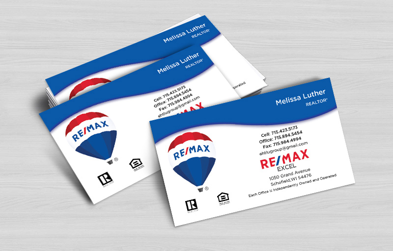 RE/MAX Real Estate Business Card Magnets Without Photo - RE/MAX  personalized marketing materials | BestPrintBuy.com