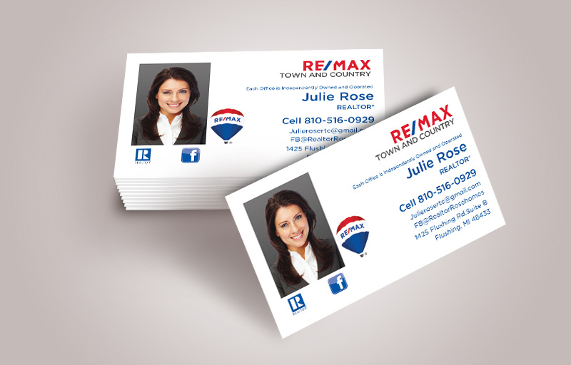RE/MAX Real Estate Business Card Magnets With Photo - RE/MAX  personalized marketing materials | BestPrintBuy.com