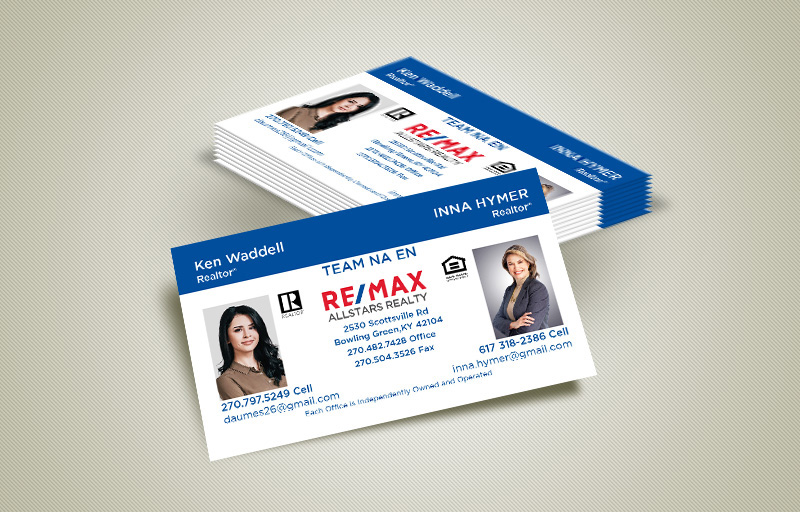 RE/MAX Real Estate Team Business Card Magnets - RE/MAX  personalized marketing materials | BestPrintBuy.com