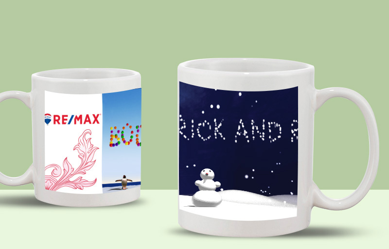 RE/MAX Real Estate WOW! Mugs - RE/MAX custom personalized promotional products | BestPrintBuy.com